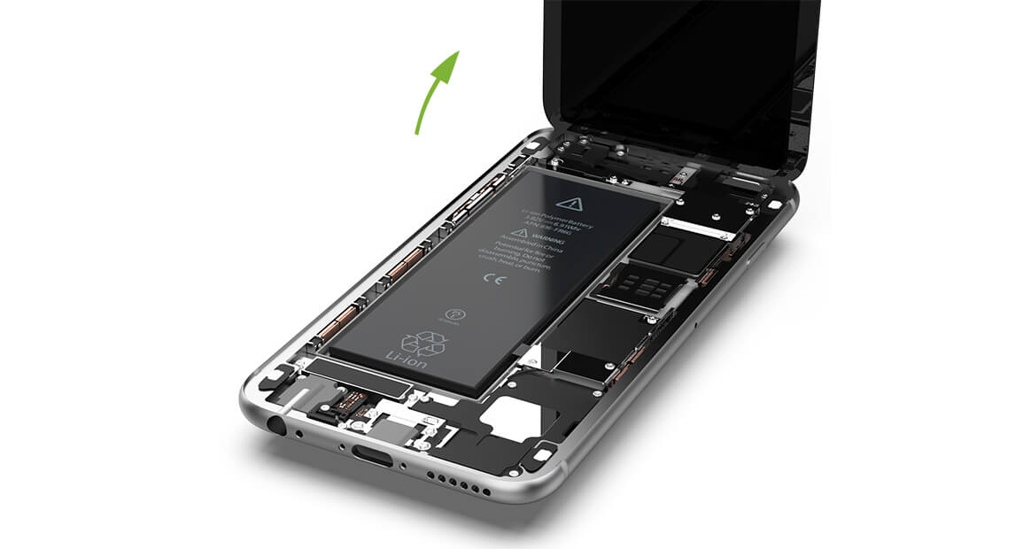 iPhone 6 Display entfernen