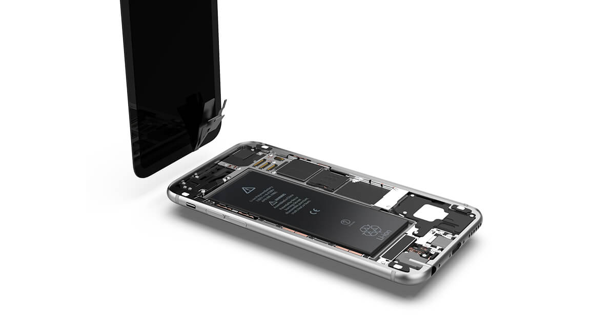 iPhone 6s Display entfernen