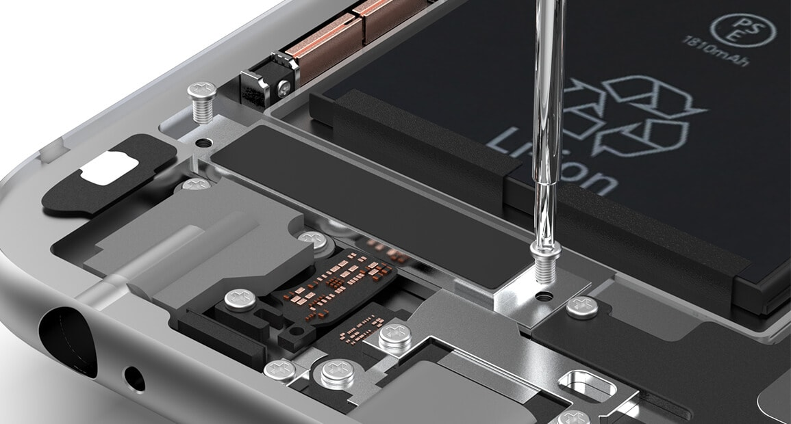 iPhone 6s Taptic Engine lösen