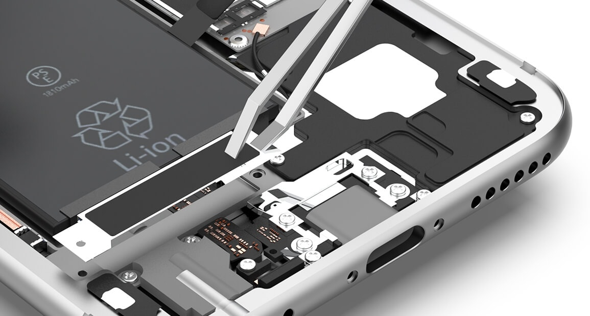 iPhone 6 Taptic Engine entfernen