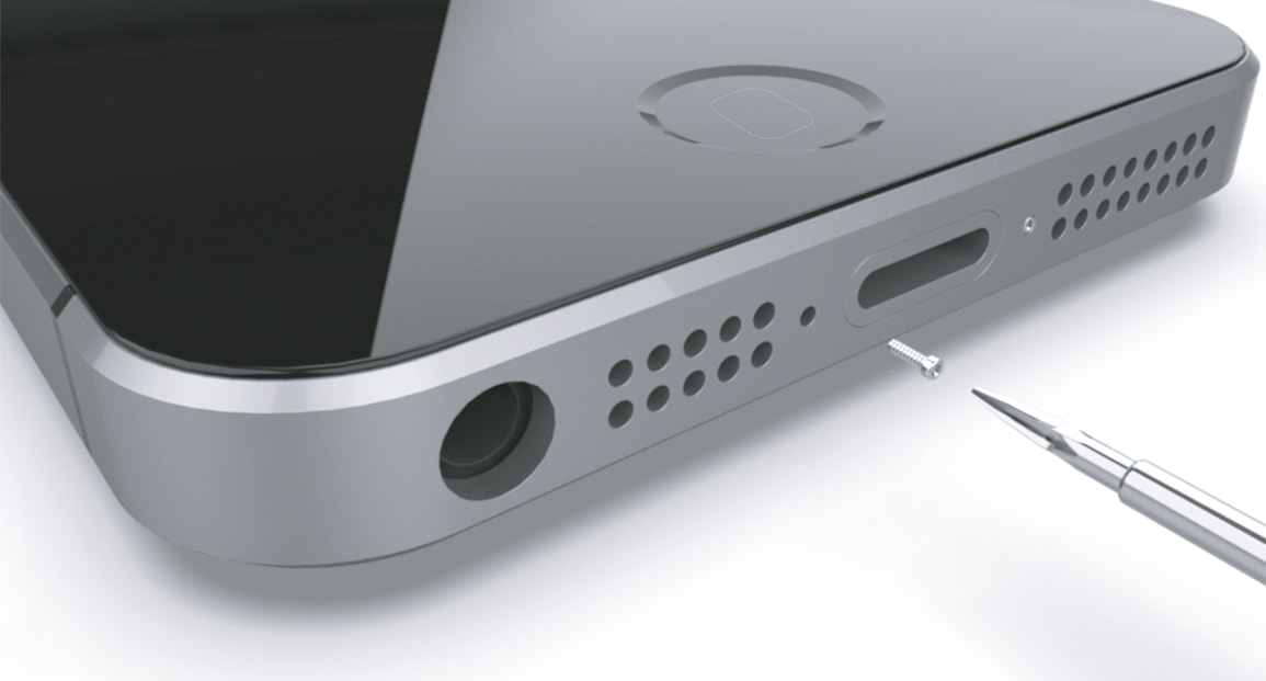 Apple iPhone 5 Monter la batterie