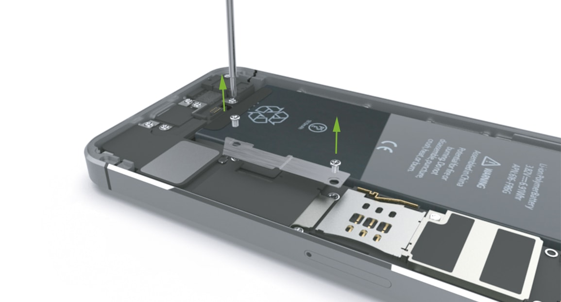 iPhone 5s Notice pour échanger la batterie