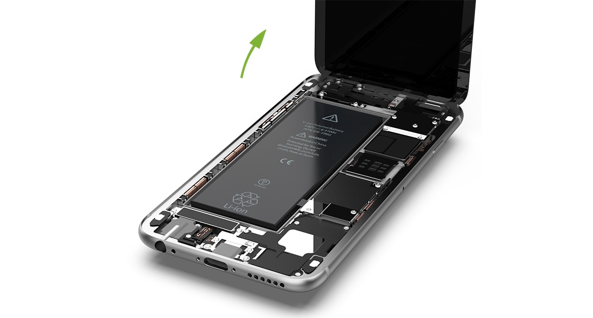 Remplacer batterie iPhone 6s