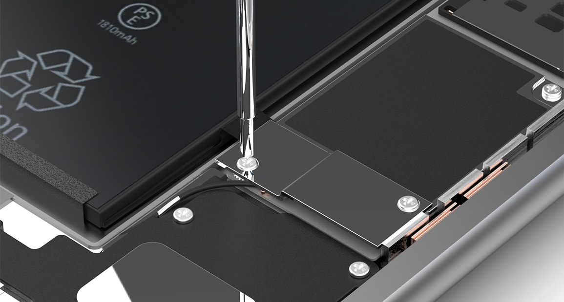 Notice de montage de la batterie de Apple iPhone 6