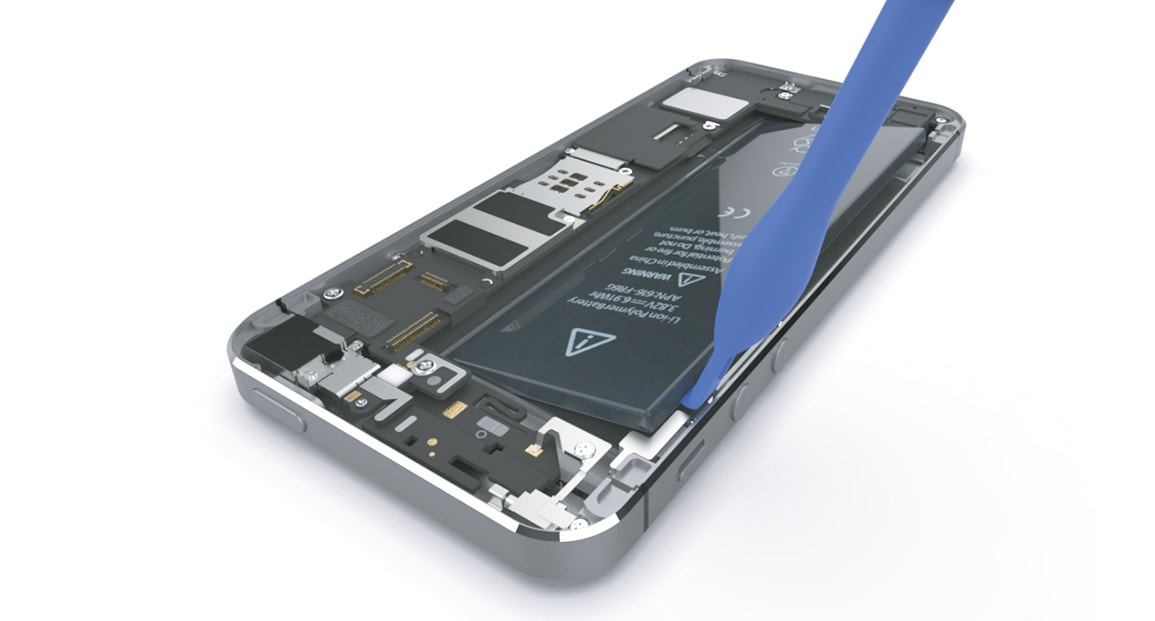 Apple iPhone 5s Retirer la batterie