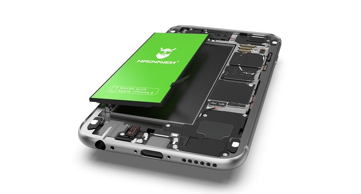 Notice de montage Batterie Hagnaven pour iPhone 6