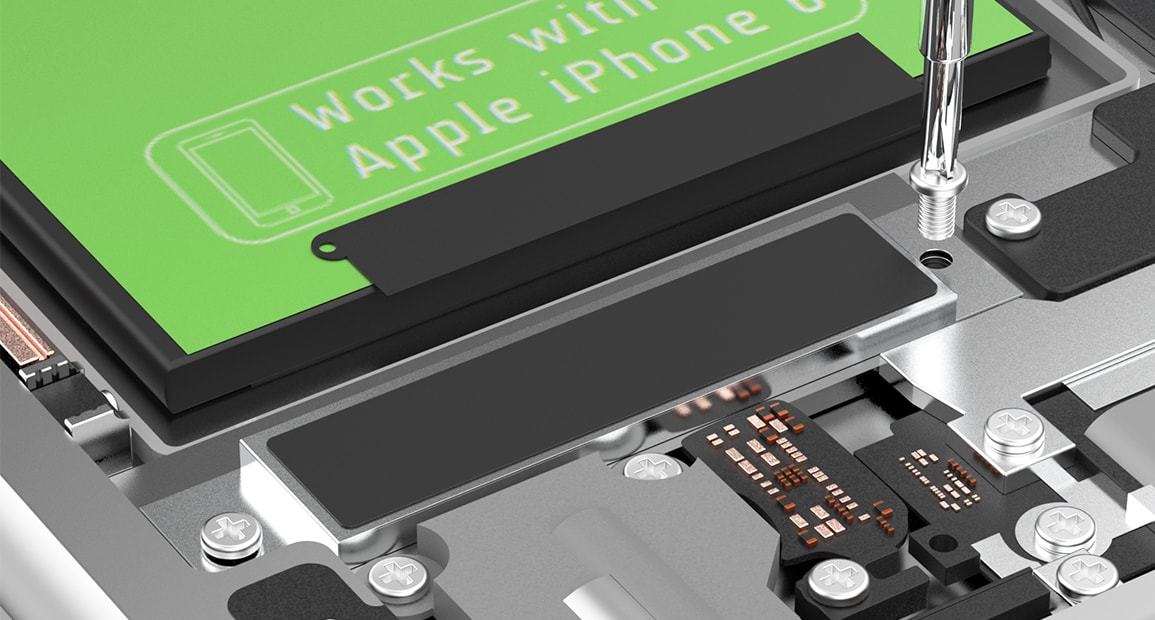 rimontare i componenti batteria apple iphone 6