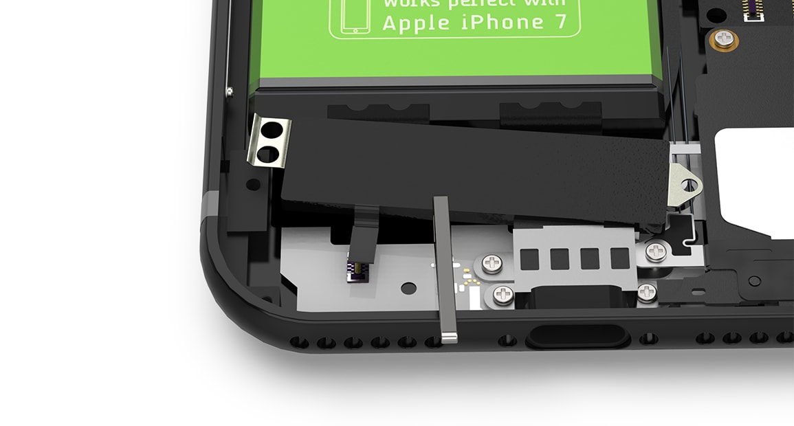 Apple iPhone 7 Taptic Engine einsetzen