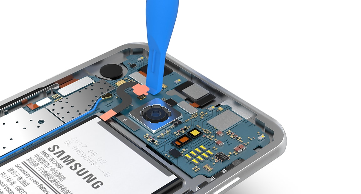 Retirer la batterie du Samsung Galaxy S7 Edge