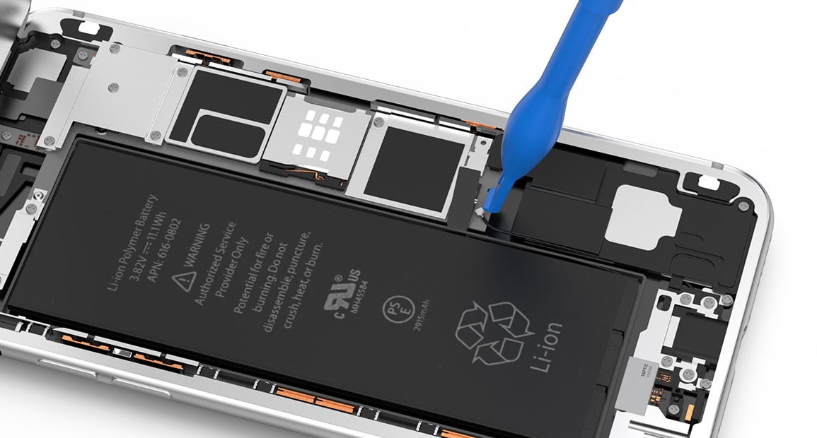Explications remplacer la batterie de l'iPhone 6s Plus
