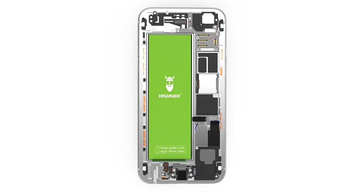 Batterie Hagnaven pour Apple iPhone 6 Plus