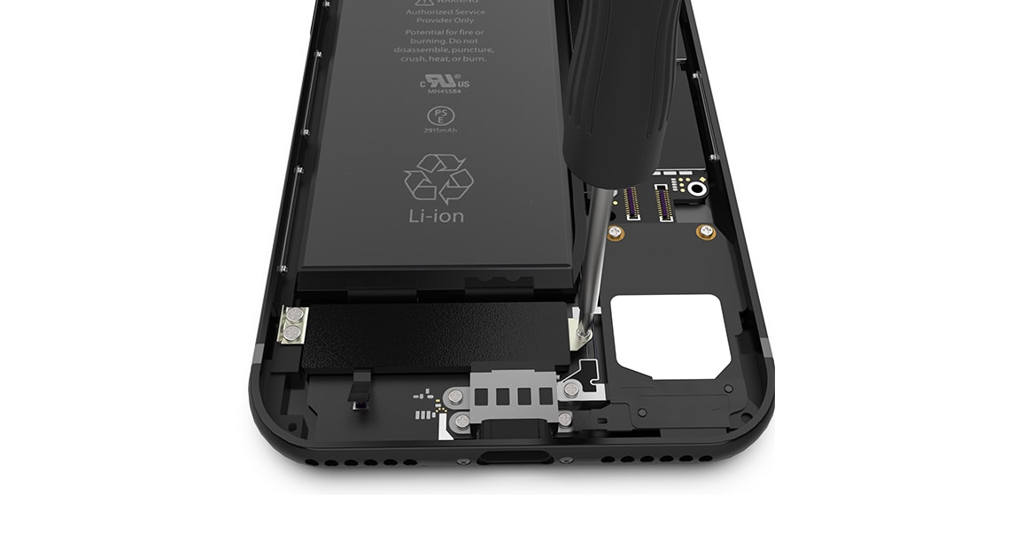 Retirer le Taptic Engine de l'iPhone 7
