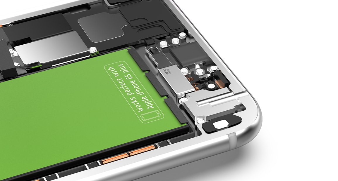 Hagnaven iPhone 6s Plus Monter la batterie de remplacement