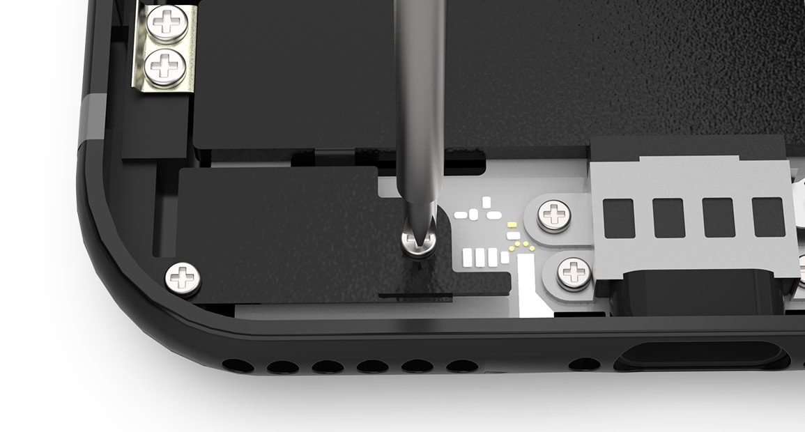 Remonter la batterie de l'iPhone 7